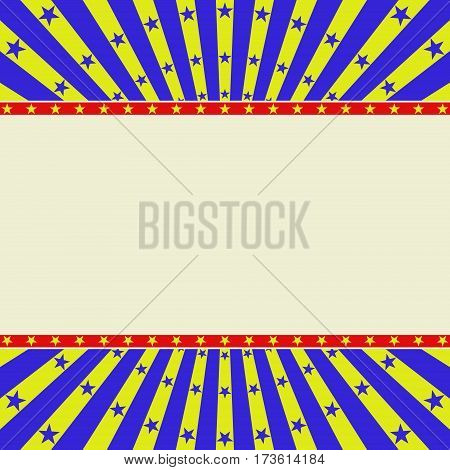 background with stars for poster - vector illustration