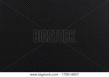Texture with gray circles and black background