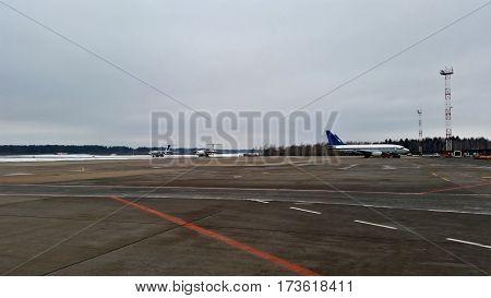 Aircraft Parking Field