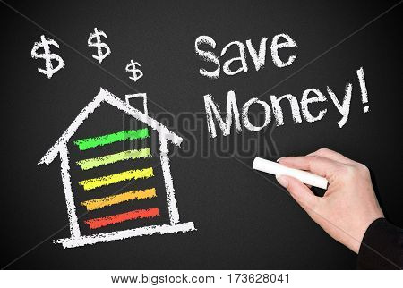 Save Money - house or home with energy efficiency