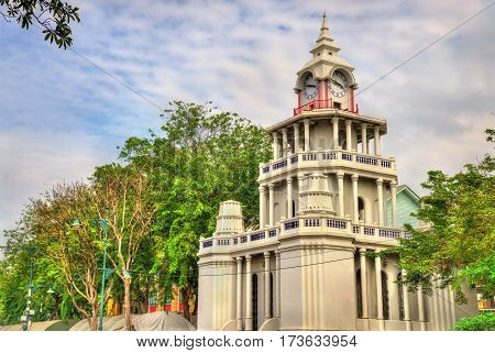 Drum Tower in the old city of Bangkok - Thailand