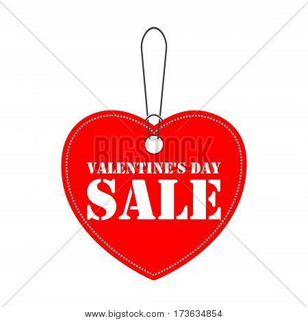 Bargain - Valentines day sale tag icon