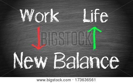 Work and Life - New Balance Concept