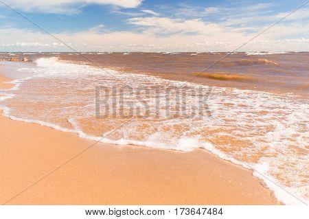 Foaming Water Divine Coastline
