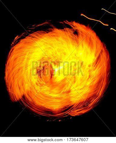Gasoline Dance Fiery Motion