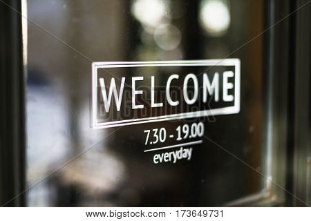 Welcome Entrance Greeting Hello Open Gate