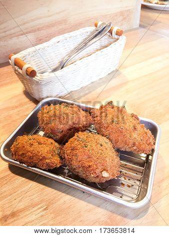Chicken Karaage Deep Fried