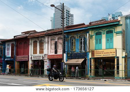 Street Scene From Kampong Glam, Singapore