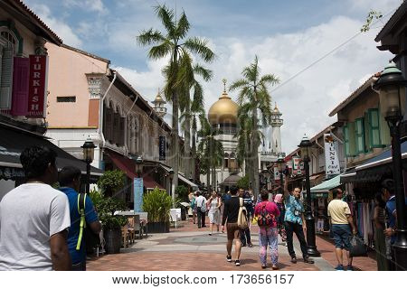 Kampong Glam And Sultan Mosque