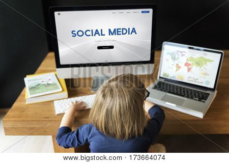 Social Media Networking Online Technology