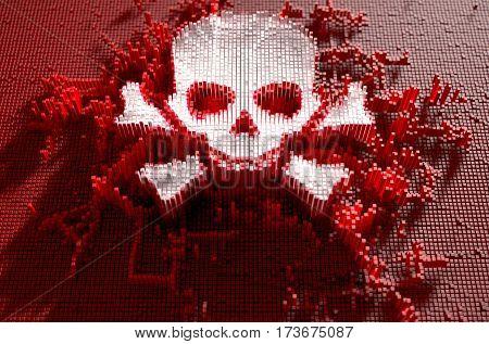 Skull And Cross Bones Cloner