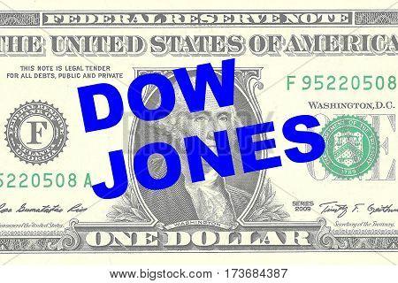 Dow Jones - Financial Concept