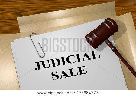 Judicial Sale Concept