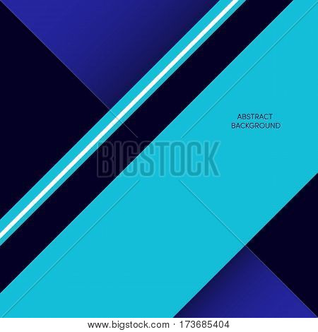 Abstract geometric composition background modern art design style and futurism. Simplicity triangle and rectangle design element can be used for poster print design template.