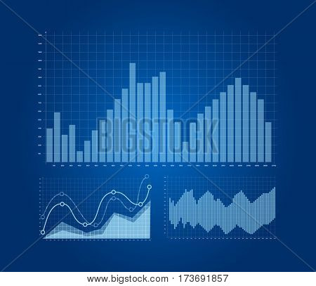Graphs And Charts Set