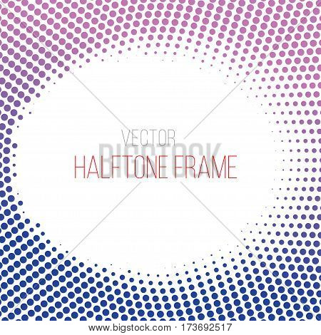 color gradient dot halftone background. Stock vector eps10 illustration