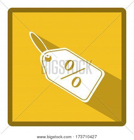 symbol bid tag icon, vector illustration design image