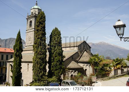 Bellagio, Italy - 13 April 2015: The church of Bellagio on lake Como Italy