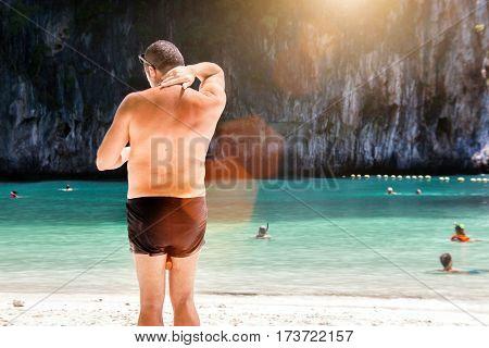 Old Man Skin Protect Sunblog Cream