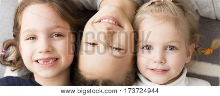 Three little girls