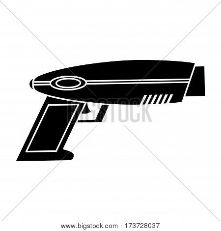 weapon virtual reality game pictogram vector illustration eps 10