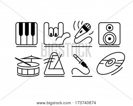 rocker, Icons Background Producer, Meloman Composer Sol-fa sekvensor