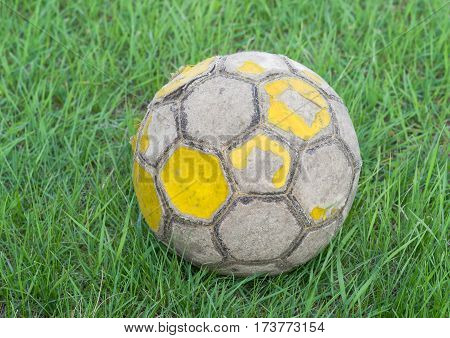 Unofficial ball of Euro 2012 in Poland-Ukraine.
