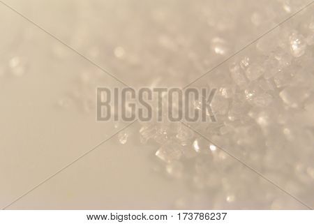 pastel background with natural crystal texture and soft focused. Vintage and pastel colors.