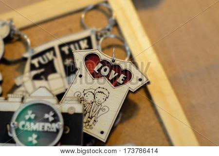 key chain of Love For Valentine's Day