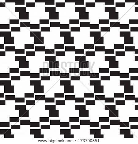 black square steps pattern background vector illustration image