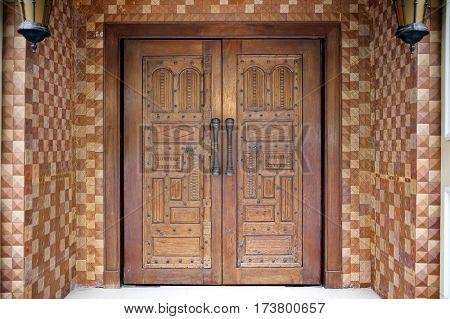 Indian wooden door so classic and luxury