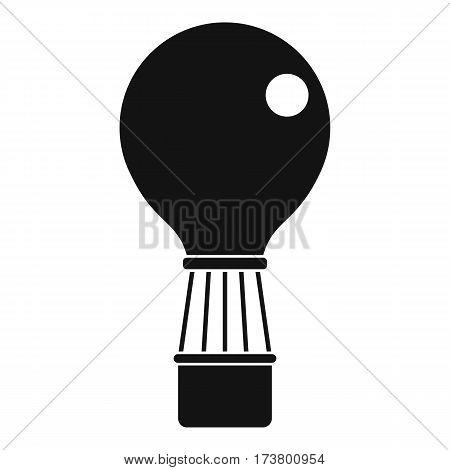 Aerostat icon. Simple illustration of aerostat vector icon for web