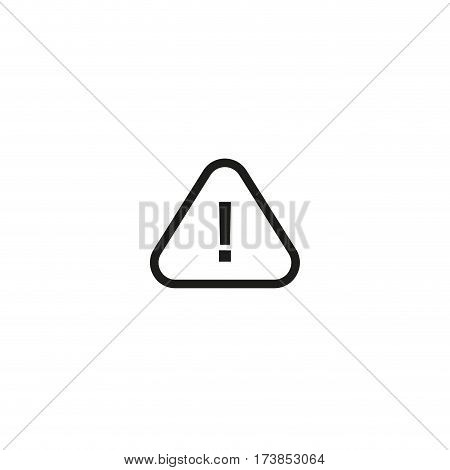 Caution, consult accompanying documents symbol isolated on white background vector illustration. Attention, see instructions for use sign. International standard black packaging pictogram