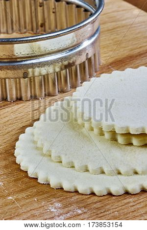 cooked dough for baking cook cooking dough wraps make cheesecake with jam series full meal recipes Food being prepared and cooked in a contemporary kitchen, with and without the chef
