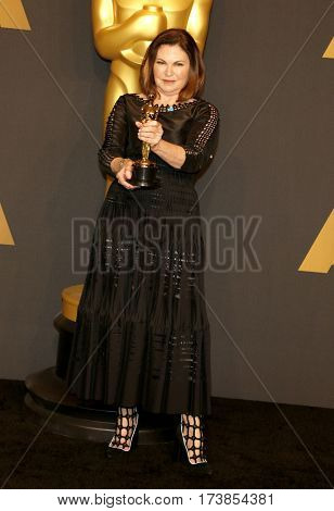 Colleen Atwood at the 89th Annual Academy Awards - Press Room held at the Hollywood and Highland Center in Hollywood, USA on February 26, 2017.