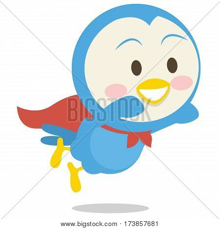 Super dove character vector art collection stock