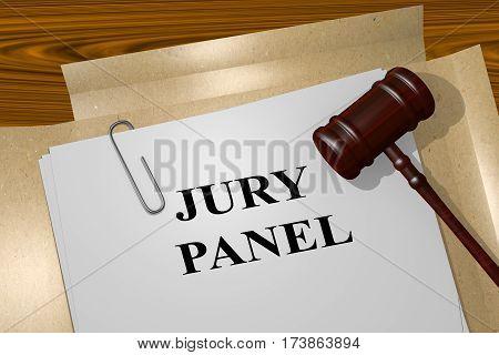 Jury Panel - Legal Concept