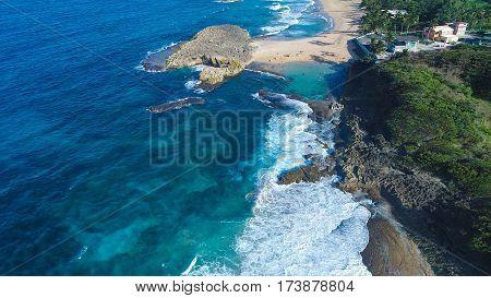 Posa de las Mujeres Beach Puerto Rico Manati