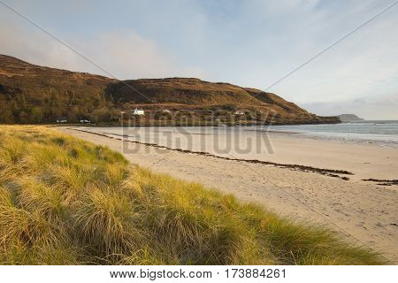 Calgary Bay Isle of Mull Argyll and Bute Scotland uk Scottish Inner Hebrides on a beautiful spring day