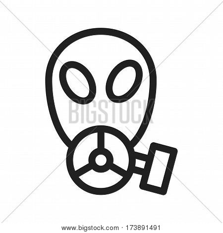 Mask, oxygen, experiment icon vector image. Can also be used for chemistry. Suitable for mobile apps, web apps and print media.