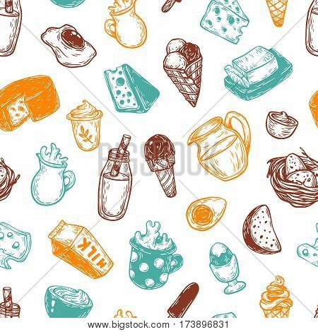 Dairy Products, Pattern.