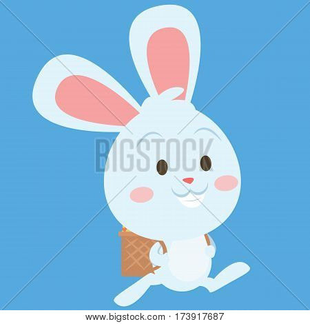 Easter bunny style collection stock vector art