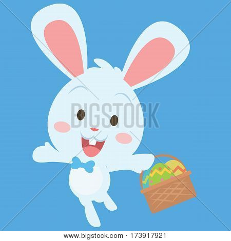 Collection stock of easter egg character vector art
