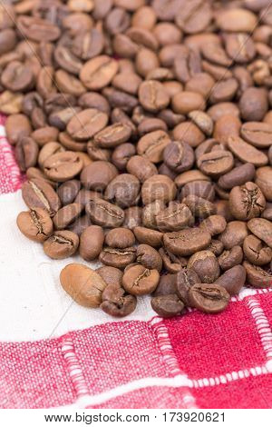 Coffee Beans Background Copy Space