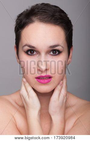 Perfect Fresh Skin Of Female Model