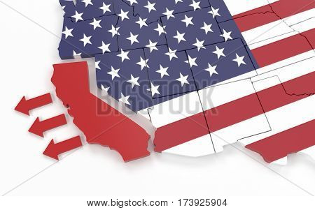 California Want's To Leave United States Of America
