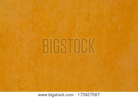 Distressed Red Plaster Wall With Cracked Surface Wide Grunge Background. Brown Brick Mortar Wall With Broken Shabby Stucco Isolated Texture. Empty Grunge Rustic Exterior House Wall Orange Surface. Italian Style.