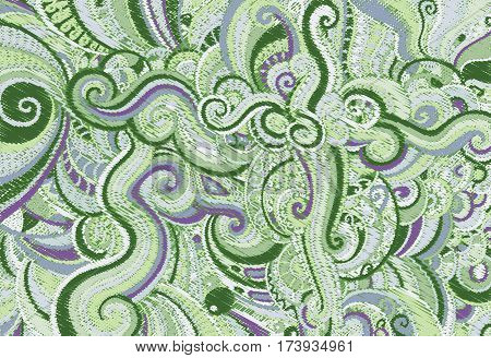 Backgrounds consisting of abstract patterns Vector art