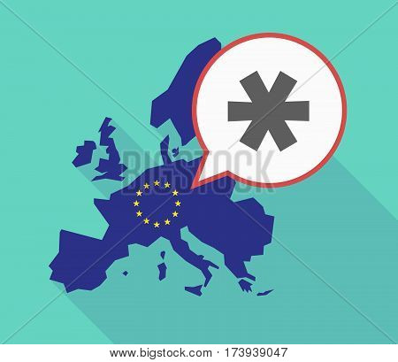 Eu Map With An Asterisk