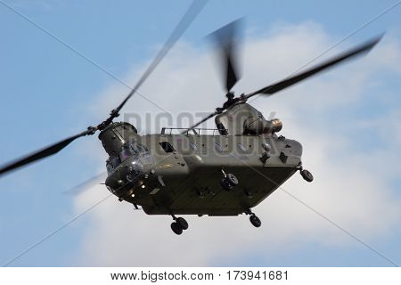 Raf Chinook At Riat